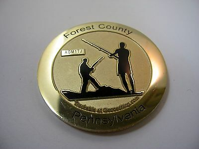 Forest County Pennsylvania Geocaching Coin Allegheny GeoTrail