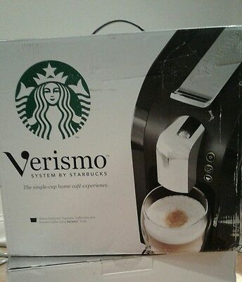 New Verismo 580 Champagne limited Edition Starbucks Coffee Maker free shipping