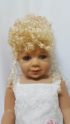 """NWT Monique Margie Honey Blonde Doll Wig 16-17"""" fits Masterpiece Doll(WIG ONLY)"""