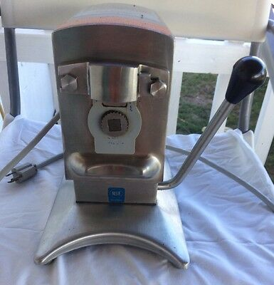 Edlund Electric Can Opener Model 270 ECO Heavy Duty Stainless 115v
