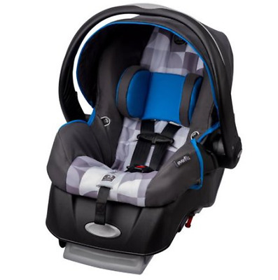 Infant Car Seat Latch w/ Harness Secure Fit Safe Baby Travel Seats Rear Facing