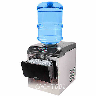 160W Commercial ice cube maker Bullet round ice making machine 200-240V