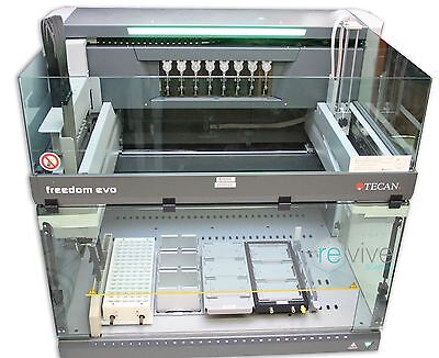 TECAN FREEDOM EVO-2 100 Base Automated Liquid Handler / 8-Channel - Complete w/