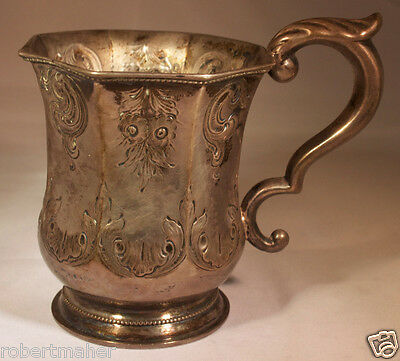 Cooper & Fisher Silver Cup Ca. 1855 MAKE ME AN OFFER!!!