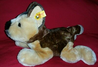 Steiff German Shepherd plush puppy dog