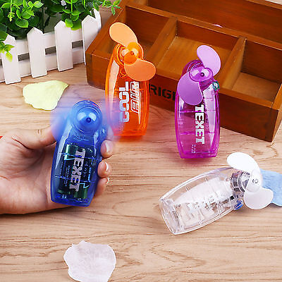 Mini Portable Pocket Fan Cool Air Hand Held Battery Travel Blower Cooler Quality
