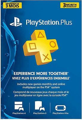 PlayStation 3 Month Subscription for only $37.99! Free Shipping! Ship Worldwide