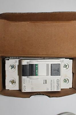 Clipsal 240/30 40A 240V Rcd Residual Current Device - Electrical Safety Switch