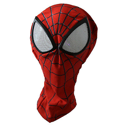 3D Spiderman Mask Adult Spider-man Lenses Halloween Masks