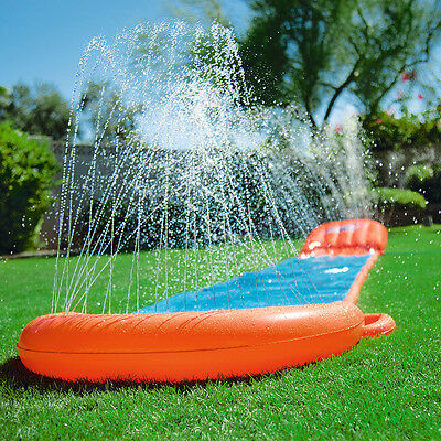 Bestway H2O Go! 18ft Single Slider, Inflatable Fun Garden Water Slip n Slide