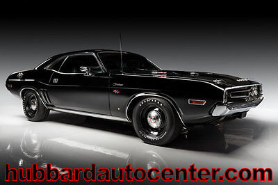 1971 Dodge Challenger Galen Govier Documented Matching Numbers 426 Hemi urvivor! The ONLY Know Existing Original Black 1971 Hemi Challenger, DOCUMENTED