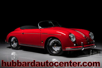 1957 Porsche 356 All of our Speedsters are new and highest quality 1957 Porsche 356 Speedster Replica Brand New Build w/ Highest Quality Available!