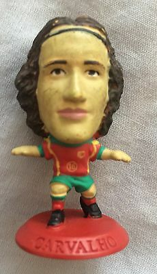 RICARDO CARVALHO PORTUGAL FOOTBALL CORINTHIAN MICROSTARS RED BASE, Chelsea
