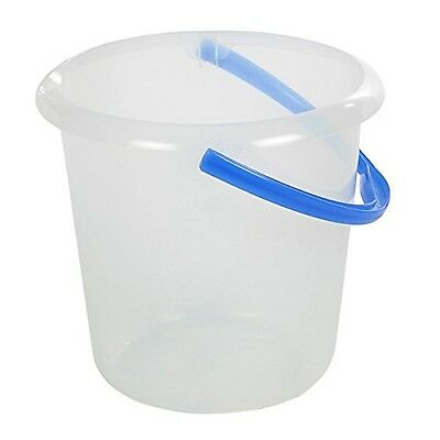 "Keeeper ""Phenix"" Bucket with Spout Transparent 10 Litre"