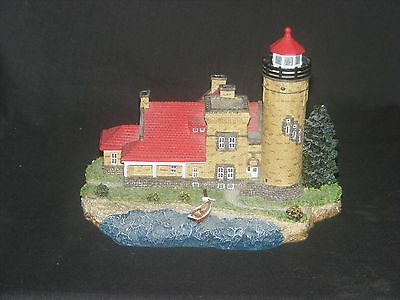 Harbour Lights Lighthouse #419 Old Mackinac Limited Edition MIB