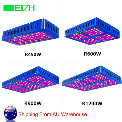 MEIZHI LED Grow Light 300W 450W 600W 900W 1200W Full Specturm indoor Veg Bloom