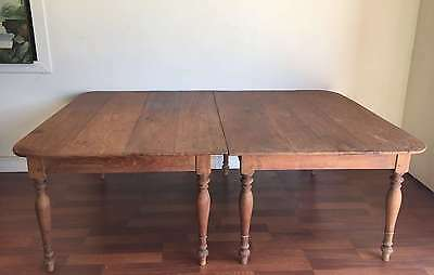 French Antique Pair Banquet Dining Tables weddings banquets CLEARANCE SALE k143