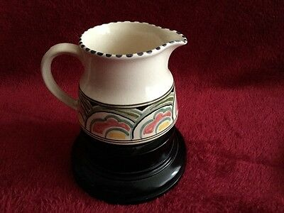 Honiton Pottery Little Jug - Hand Painted 3 Inches Tall