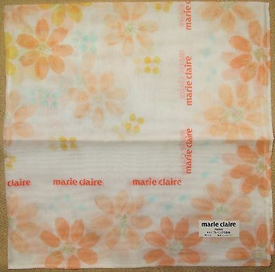 MARIE CLAIRE *Orange Flower Handkerchief /BEPINSN