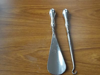 Sterling Silver Button Hook/shoe Horn