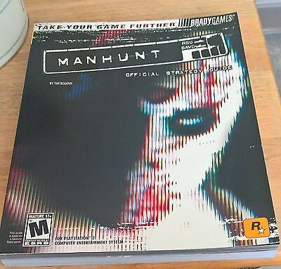 Manhunt Official Strategy Guide PS2 Brady Games Guide