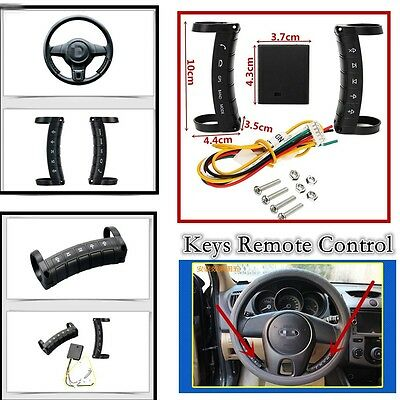 Wireless SUV Car Steering Wheel 10Keys Button Remote Control For Stereo DVD GPS