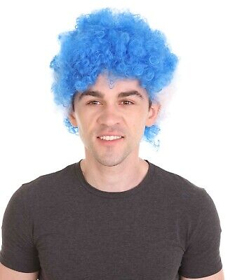 National Team Country Flag Afro Cosplay Party Costume Wig - 30 Styles