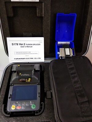 FURUKAWA FITEL S178A V2 Core Alignment Fusion Splicer Kit w/Cleaver