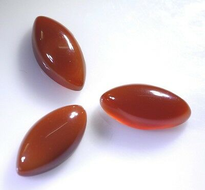 sublime Red Onyx cabochon marquise 12X24 mm Loose Gemstones STRONCBMQ12X24