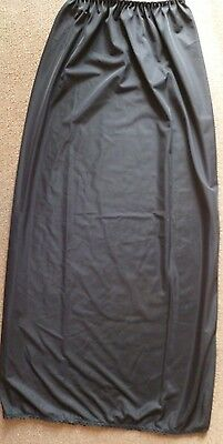 Long Black Petticoat in Size  Large  -  New