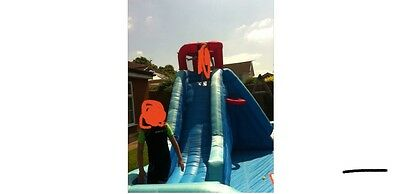 Little Tikes Slam Dunk Water slide