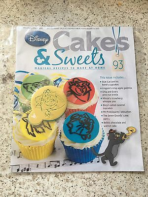 Disney Cakes And Sweets Issue 93 #free Post