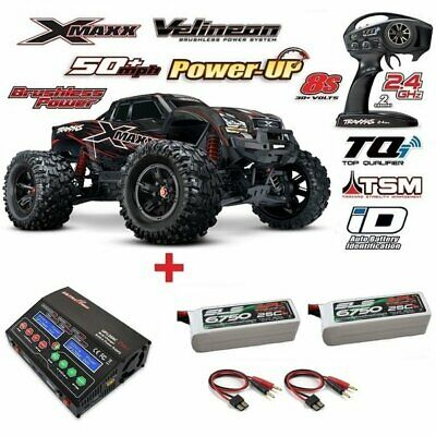 Traxxas X-Maxx 8S Brushless 1/5 4WD 2.4GHz TQi Wireless + POWER PACK3 77086-4