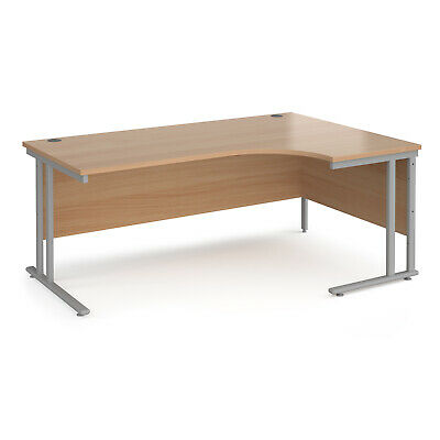 Large 1800 x 1200mm Right Hand Ergonomic Corner Desk In 5 Colour Options