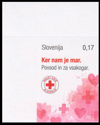 SLOVENIA SLOWENIEN 2017 RED CROSS ROTES KREUZ CROCE ROSSA ** SELF-ADHESIVE 1v **