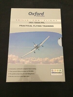 NEW.Oxford Aviation Academy JAA/EASA PPL PRACTICAL FLYING. CD-ROM. RRP £74