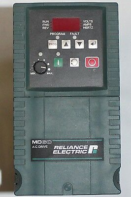 RELIANCE ELECTRIC MD60 Variable Speed AC Servo Drive 6MDDN-8P7101 3.75kW/5HP