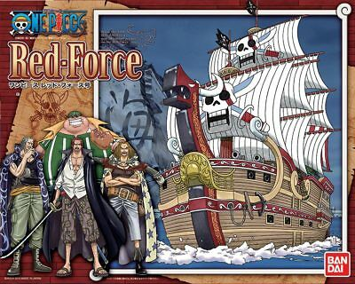 One Piece Red Force Ship Figura Figure New Nueva Bandai