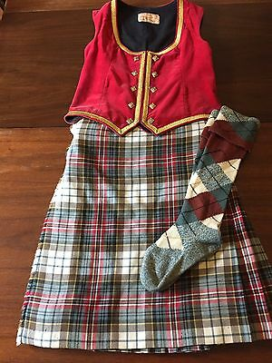 Highland Dancing Outfit - FREE SHIPPING TO CANADIAN ADDRESS