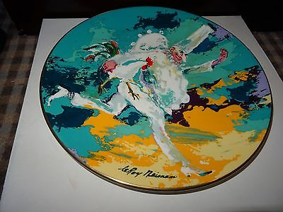 Royal Doulton-Collectors Plate - PUNCHINELLO- Designed by LeRoy Neiman-10.5 INS.