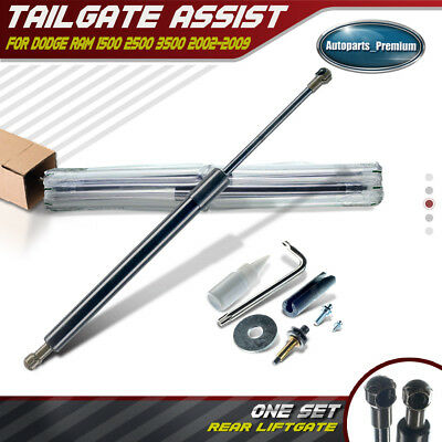 Tailgate Assist Shocks Struts for Dodge Ram 1500  2500  3500 2002-2009 DZ43300