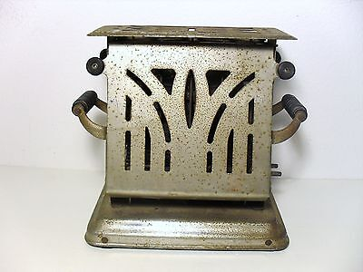1920's Antique Toaster + Power Cord, 550 Watts, Made By Dominion Electric, Usa
