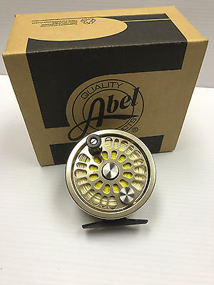 Abel Super 3 Fly Fishing Reel, slightly used, with WF8F line and backing