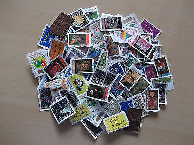 Joli lot de 200 timbres différents de France ( lot 2 )