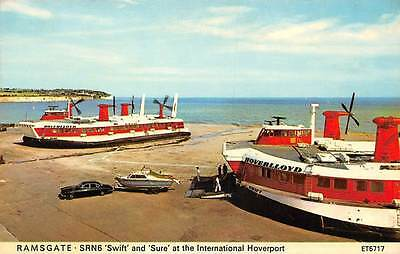 Ramsgate SRN6 'Swift' and 'Sure' at the International Hoverport, Auto Car Boats