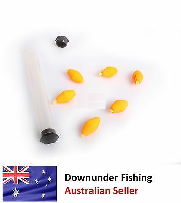 Fly Fishing Strike Indicators - High Vis Yellow X6
