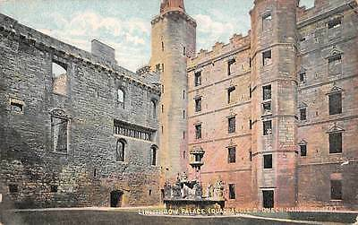 """Scotland Linlithgow Palace Quadrangle & Queen Mary's """"National"""" Series"""