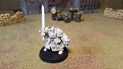 Warhammer 40k Grey Knights Space Marines Brother Captain Stern, unpainted