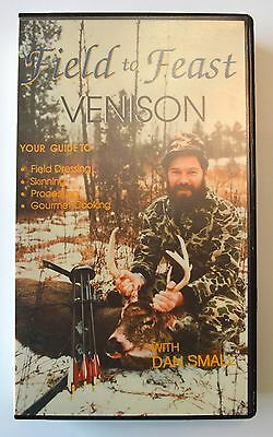 VHS Field to Feast Venison Deer Skinning Processing Recipes Dan Small 1987