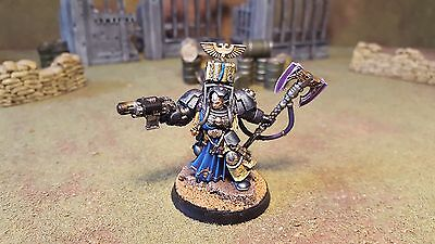 Warhammer 40k Grey Knights Space Marines Librarian Terminator, well painted